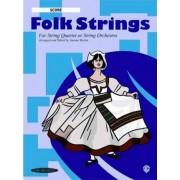 Folk Strings for String Quartet or String Orchestra by Dr Joanne Martin PhD