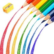 Colored Pencils Sketching Pencils/Colouring Pencils with Pencil Sharpener Drawing Pencils for Adult Coloring Books Art Pencil (36 Colors with Sharpener)