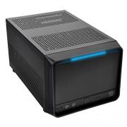 Alloggiamento Thermaltake Urban SD1 Micro-ATX, 2 x USB 3.0, cubo, pannello frontale in alluminio