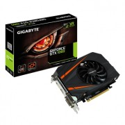 Placa video Gigabyte GeForce GTX 1060 Mini ITX OC, 1556 (1771) MHz, 3GB GDDR5, 192-bit, 2x DL-DVI-D, HDMI, DP