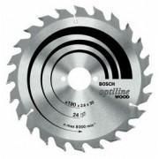 Panza de ferastrau circular Optiline Wood D=225mm [Promo Spring]+TRANSPORT INCLUS