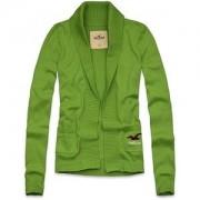 Cardigan Feminino - Hollister - Verde