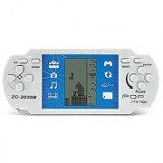 JXD White Retro Portable Tetris Handheld Built-in 23 Games Tetris Kids Electronic Brick Games