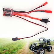 Generic 20A ESC Brushed Motor Speed Controller With Brake for RC Cars Boat Tank Truck remote helicopter radio controlled A676