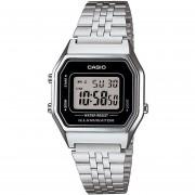Reloj Casio Pulso Vintage Digital LA680WA-1DF-Plateado