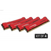 Kingston 32GB HX324C11SRK4/32 2400MHz DDR3 Non-ECC CL11 DIMM (Kit of 4x 8GB) Ram Module