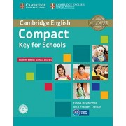 Frances Treolar Compact Key for Schools Student's Pack Student's Book without Answers with CD-ROM, Workbook without Answers with Audio CD