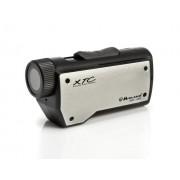 Midland XTC-200 - Videocámara deportiva (HD 720p, MP4, micro SD, 93 gr), negro y gris