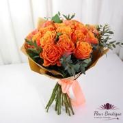 Buchet 19 trandafiri Clementine Rose BF087