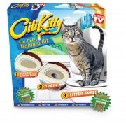 Baño Para Gatos Entrenamiento Wc + Catnip