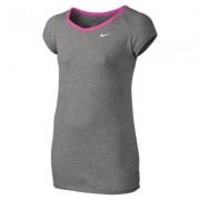 Nike Dri-FIT Cool Short-Sleeve (8y-15y) Older Girls' Training Top