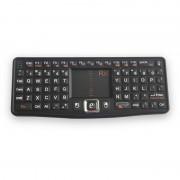 Mini tastatura wireless Rii tek N7 qwerty multimedia cu touchpad