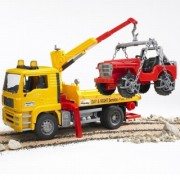 Kamion MAN servis sa džipom 02750