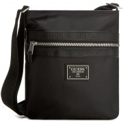 Geantă crossover GUESS - New Heritage HM2257 POL64 BLA