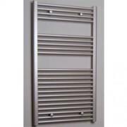 Designradiator Recht Sanicare 111.8x60cm 730 Watt Inox Zijaansluiting