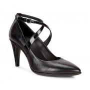 Pantofi business dama ECCO Shape 75 Pointy (Negri)