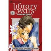 Library Wars: Love & War, Vol. 4 by Kiiro Yumi