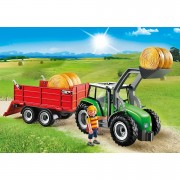 Playmobil Country Large Tractor with Trailer (6130)