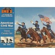 Imex 503 1/72 Union Cavalry Set Civil War Figures