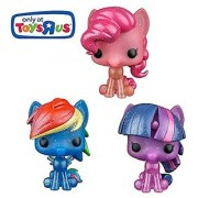 Funko POP! My Little Pony Exclusive Set of 3 - Pinkie Pie Twilight Sparkle and Rainbow Dash