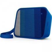 Безжична портативна колонка Philips Bluetooth, Синя, BT110A