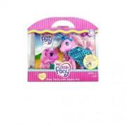My Little Pony G3 25th Birthday Celebration: Pony Party with Pinkie Pie Pony Figure Set & Read Along Book with Audio CD