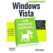 Windows Vista the Missing Manual by David Pogue