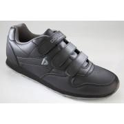 Donnay Sport-/ Freizeitschuh, grau/ schwarz, Gr. 40