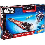 Hot Wheels Star Wars Lightsaber Blast & Battle Darth Vader Vehicle Launcher