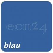 Gusto Blumentopf für Balkongeländer mit Klemmsystem blau