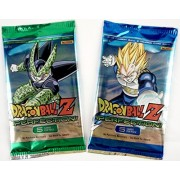 Dragon Ball Z Collectible Trading Card Game Perfection Booster Pack by Panini - 2 Pack Set - 5 Cards Each Pack 10 Cards Total