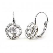 Helen Swarovski kristályos csavart fülbevaló