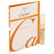 Cartier Eau De Cartier Essence D'orange Vial (Sample) 0.05 oz / 1.48 mL Men's Fragrances 537045