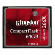 Card Kingston CF Ultimate 64GB 266x cu MediaRECOVER
