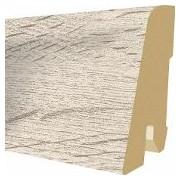 Plinta MDF Egger 60x17 mm, 2,4 m, culoare Stejar Verdon alb