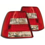 Stopuri cu LED VW Bora 1J 98-04 clar/rosu