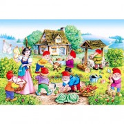 PUZZLE SNOW WHITE AND THE SEVEN DWARFS