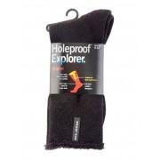 Holeproof Explorer Socks - Black 6-10
