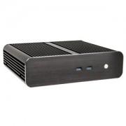 Carcasa Akasa Euler S Fanless Thin Mini-ITX OEM Black