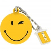 Memorie USB Emtec Smiley World Take it easy 8GB USB 2.0 Yellow