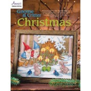 Gnome & Critter Christmas Cross Stitch Pattern by Annie's