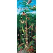 Meliss and Doug - Puzzle de podea Padurea Tropicala 100 pcs