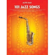 101 Jazz Songs for Alto Sax by Hal Leonard Corp