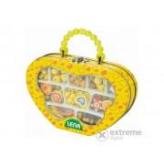 Set perle Lena Fa, în geantă galbenă