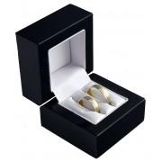 Dřevěná dárková krabička na snubní prsteny BB-2/NA/A25