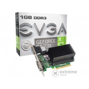 Placa video EVGA nVidia GT 730 1GB DDR3 - 01G-P3-1731-KR