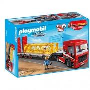 Platforma cu remorca, PLAYMOBIL Construction