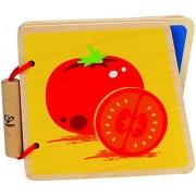 Hape Happy Baby Baby Book, Vegetables