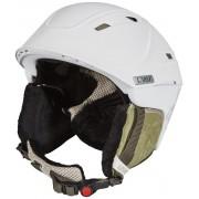 UVEX p2us WL Kask Kobiety biały Kaski narciarskie