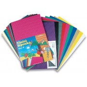 Vlnitá lepenka 37x24,5/10ks fialová rovná